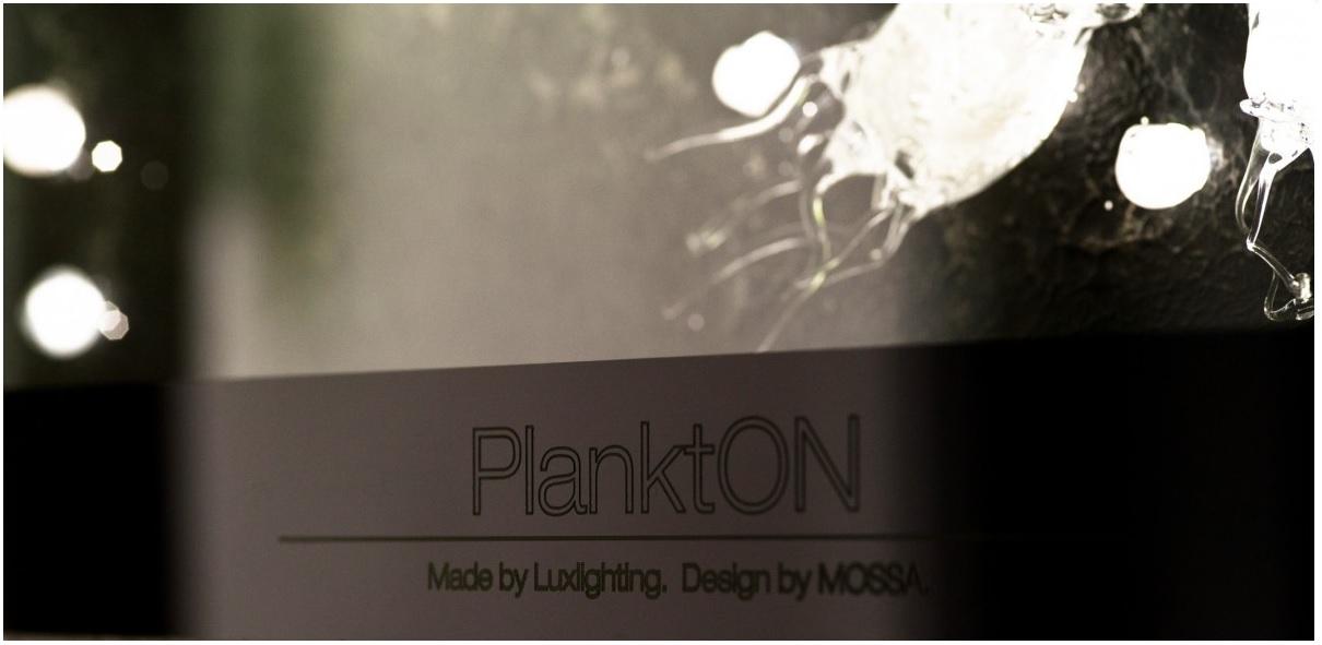 PlanktON interiér detail logo